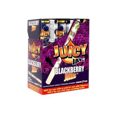 24 Juicy Jay Jones Flavoured Pre Rolled Cones with Wooden Dank 7 Tips