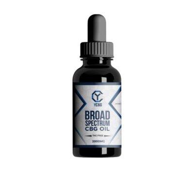 yCBG Broad-Spectrum 2000mg CBG Oil 30ml