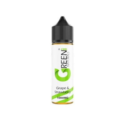 Green Naturals 1000mg CBD Vaping Liquid 50ml (50PG/50VG)