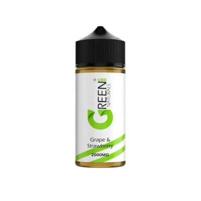 Green Naturals 2000mg CBD Vaping Liquid 100ml (50PG/50VG)