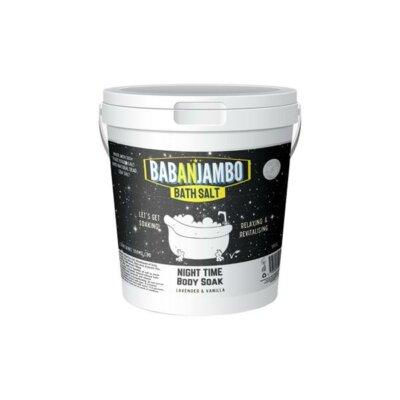 Babanjambo 100mg CBD Lavender & Vanilla Night Time Bath Salt – 900g