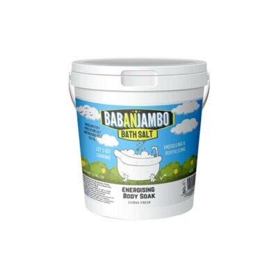 Babanjambo 100mg CBD Citrus Fresh Energising Bath Salt – 900g