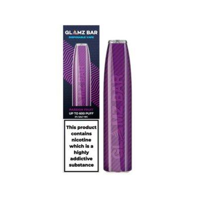 20mg Glamz Bar Disposable Vape Pen 600 Puffs