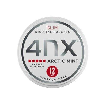 4NX 12mg Arctic Mint Slim Nicotine Pouches 20 Pouches