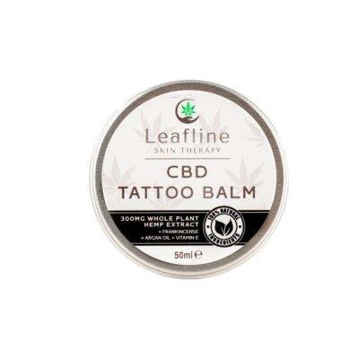 CBD Leafline 300mg CBD Tattoo Balm – 50ml